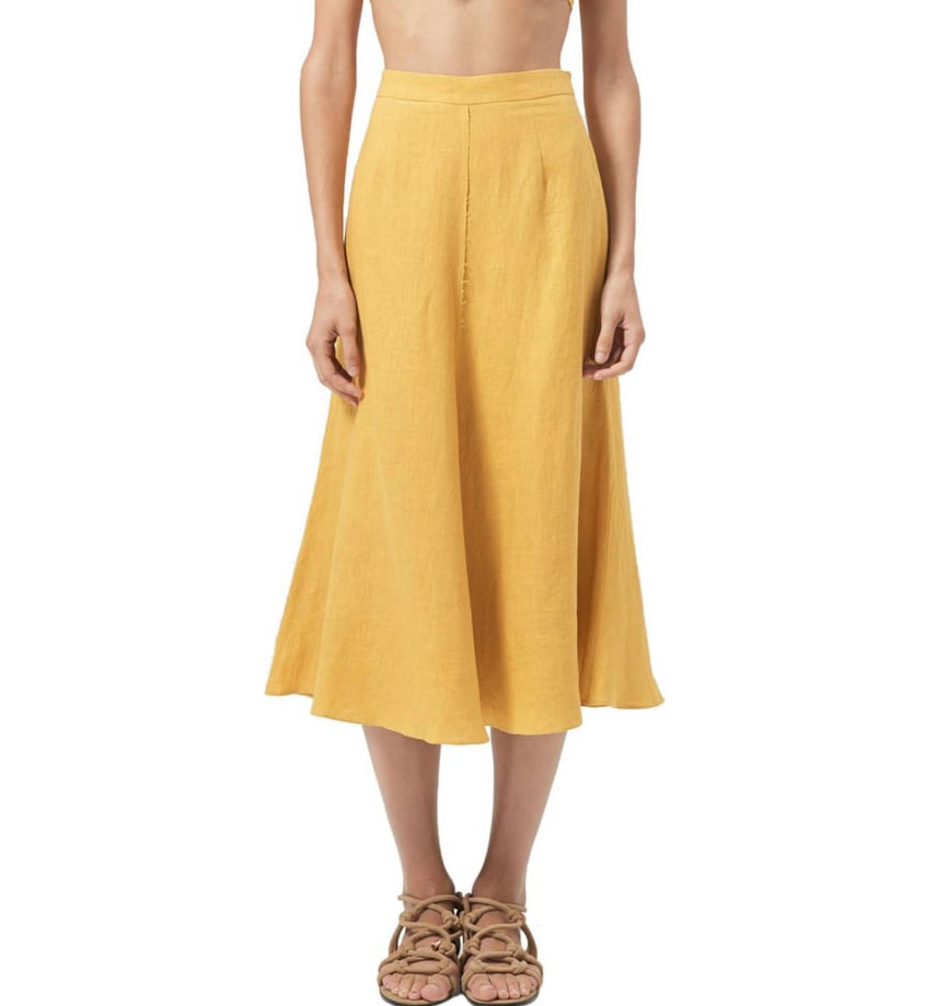 Hansen and Gretel Bek Linen Skirt ($179)    Dicount: 20% will be deducted at checkout.