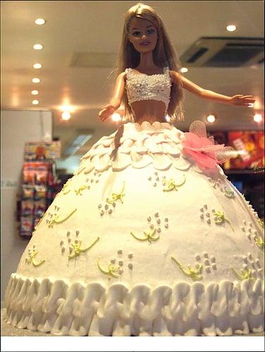 Happy Birthday Barbie Cakes