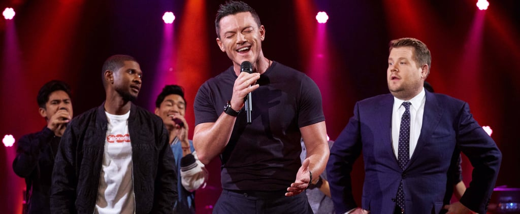 Stop What You're Doing, and Let Luke Evans Serenade You With His Sexy Voice