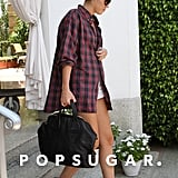 Miley Cyrus checked out of her hotel in Miami.