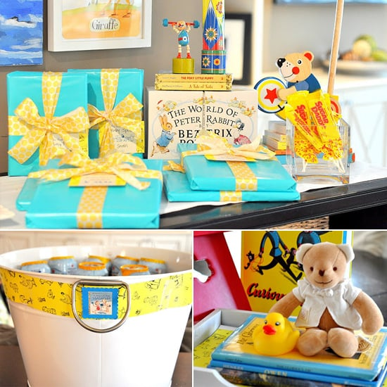 A Golden Books Baby Shower