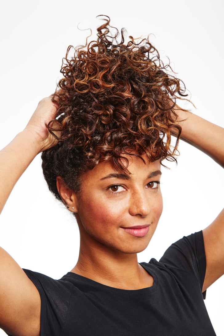 hair styling ideas why pineappling is popular curly hair styling tips 3084