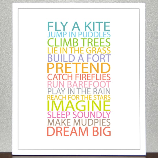 Creative Art For Kids Rooms