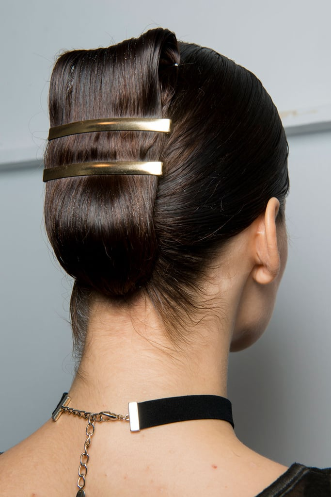 If Barrettes Are Your Thing Try This Double Accessory