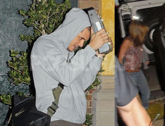 Jennifer Aniston Visits John Mayer