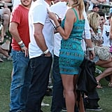 Jason Statham and Rosie Huntington-Whiteley showed PDA in 2010.