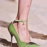 Ankle-Strap Pumps: Dsquared Spring 2014