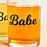 Babe + Bae Glass Set