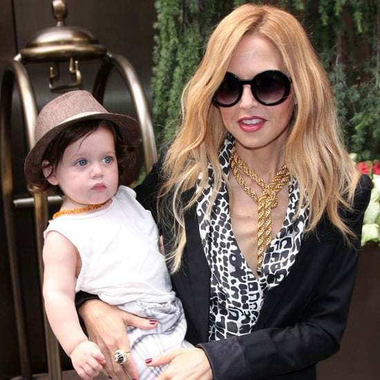 Rachel Zoe, Skyler Berman, and Rodger Berman in NYC Pictures