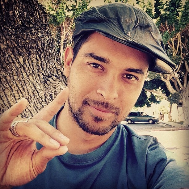 Wilmer Valderrama showed his love to fans with this sexy selfie. Source: Instagram user wilmervalderrama