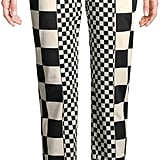 Love Moschino Women's Check Ankle Trousers