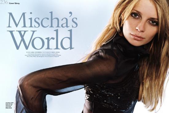 Mischa is Light-Hearted