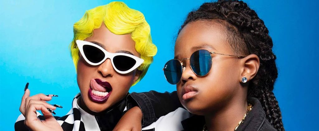 Ciara and Son Future's Cardi B and Offset Halloween Costume