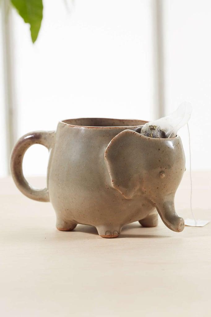 Plum & Bow Elephant Tea Mug  ($16)