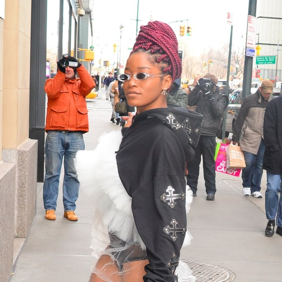 Keke Palmer Talks About Going Makeup-Free | January 2017