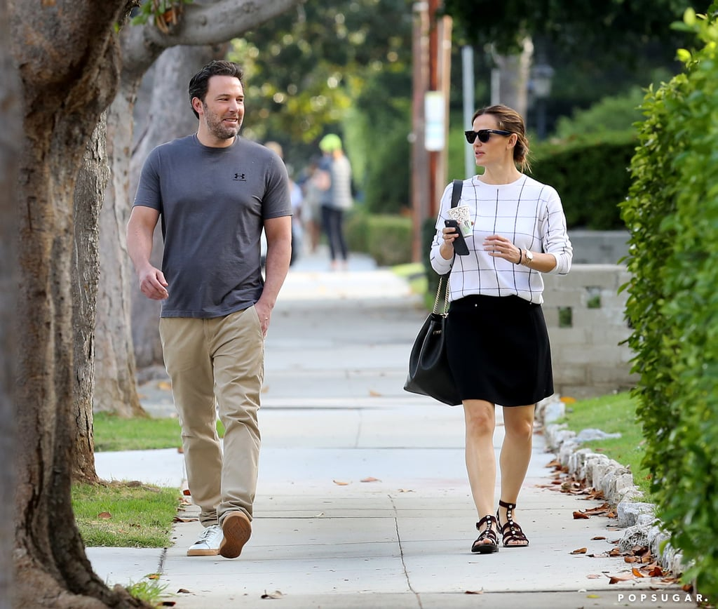 Sept. 22: The two share a laugh while walking to their car in LA.