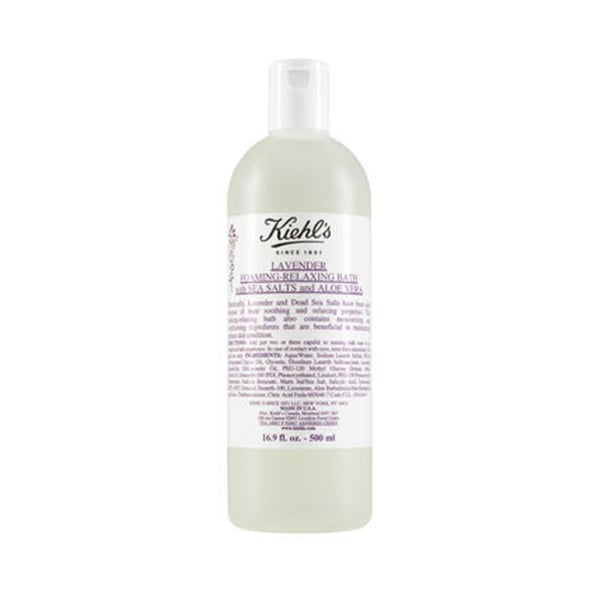Kiehl's Lavender Foaming-Relaxing Bath with Sea Sat and Aloe, $55