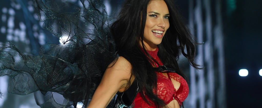 Adriana Lima Strolls Down the Victoria's Secret Fashion Show Runway For the 17th Time