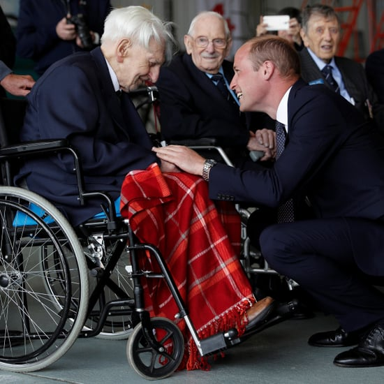 Prince William With Veterans July 2017