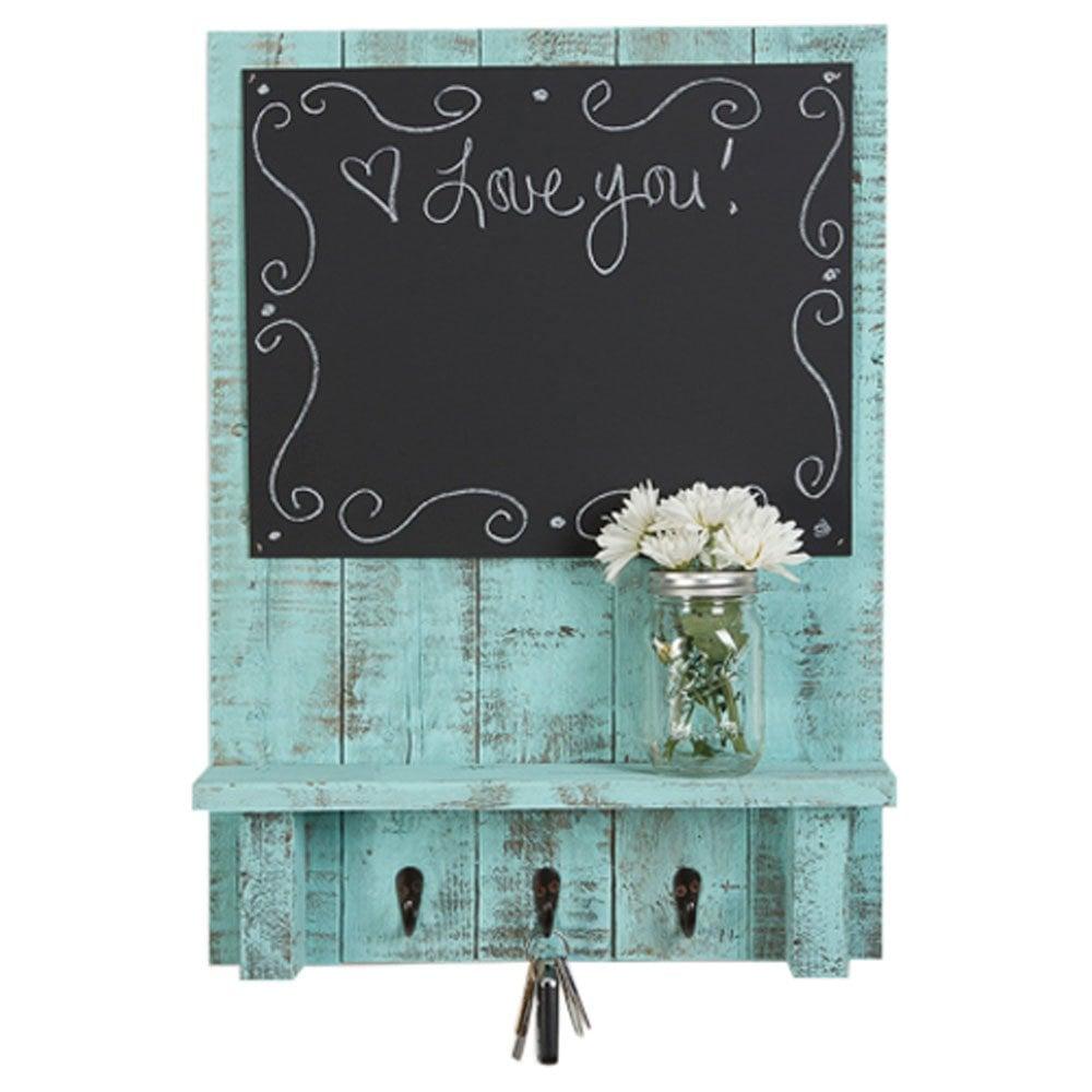 Chalkboard Display Shelf