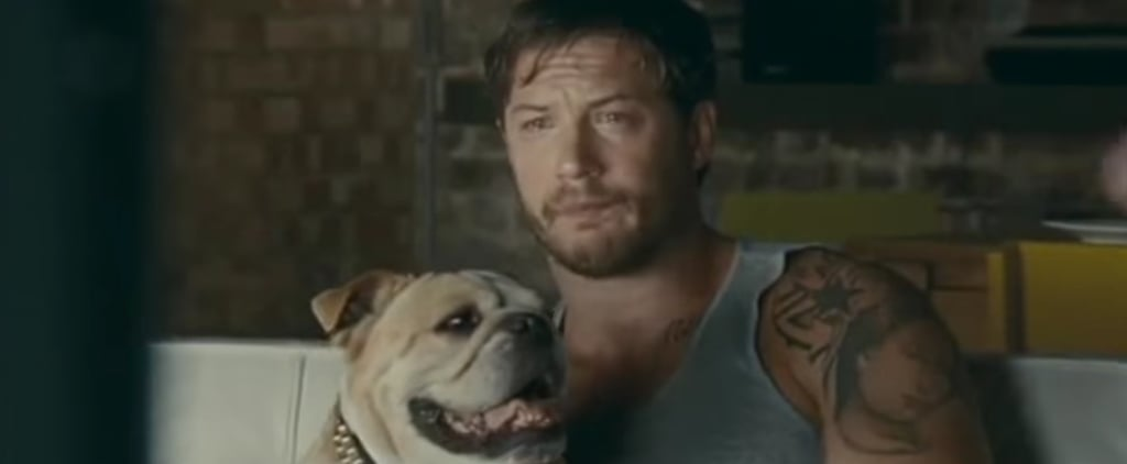 Remember When Tom Hardy Cried and Cuddled a Bulldog in a Kleenex Advert?