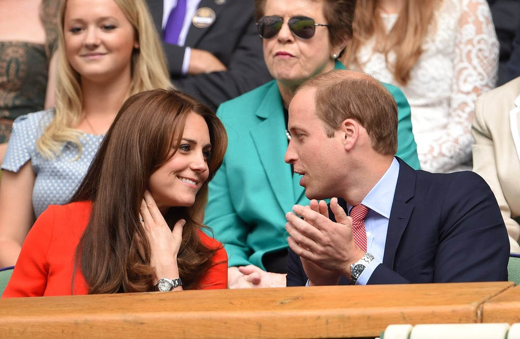 Kate Middleton and Prince William at Wimbledon Pictures