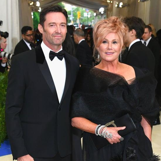 Hugh Jackman and Deborra-Lee Furness at the Met Gala 2017