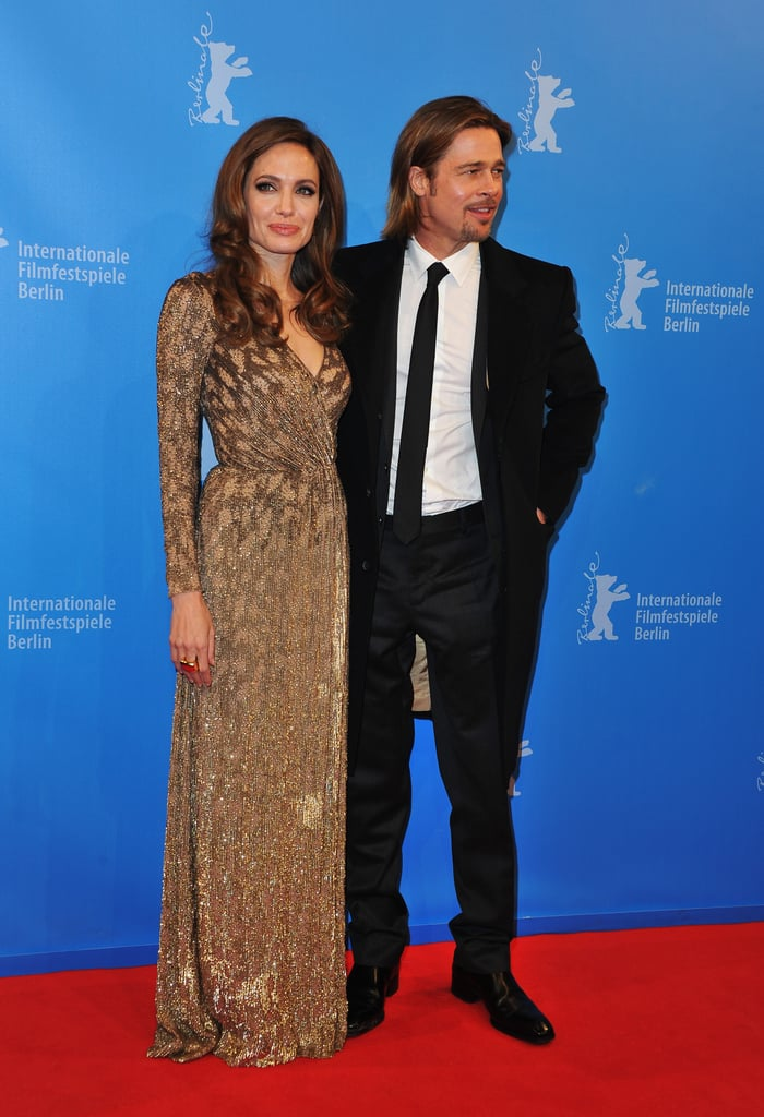 Brad Pitt and Angelina Jolie at the premiere of In the Land of Blood and Honey.