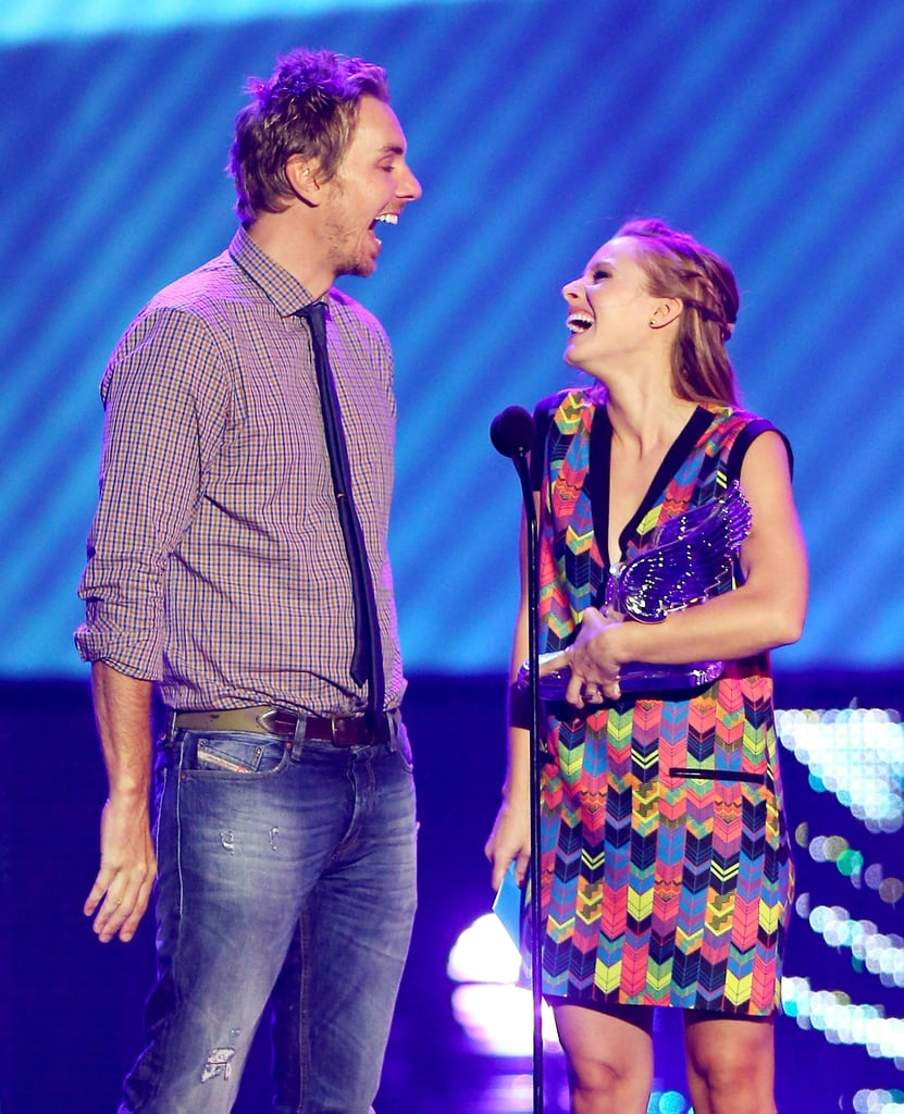 Dax and Kristen cracked up at the 2012 Do Something Awards.