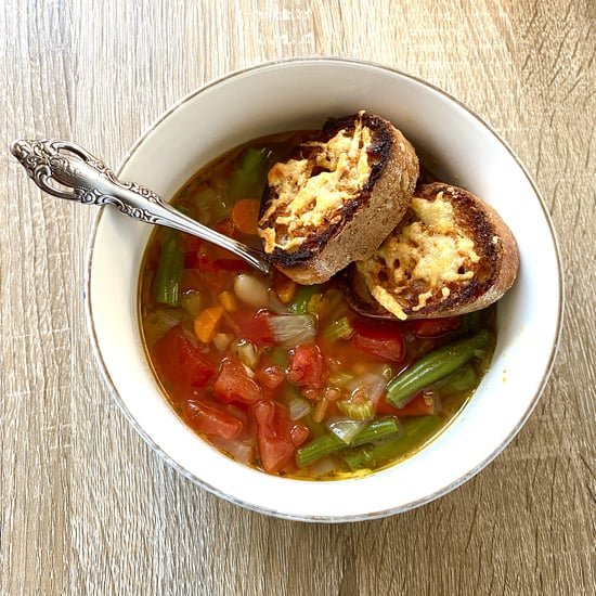 Chrissy Teigen's Minestrone Soup Recipe and Photos