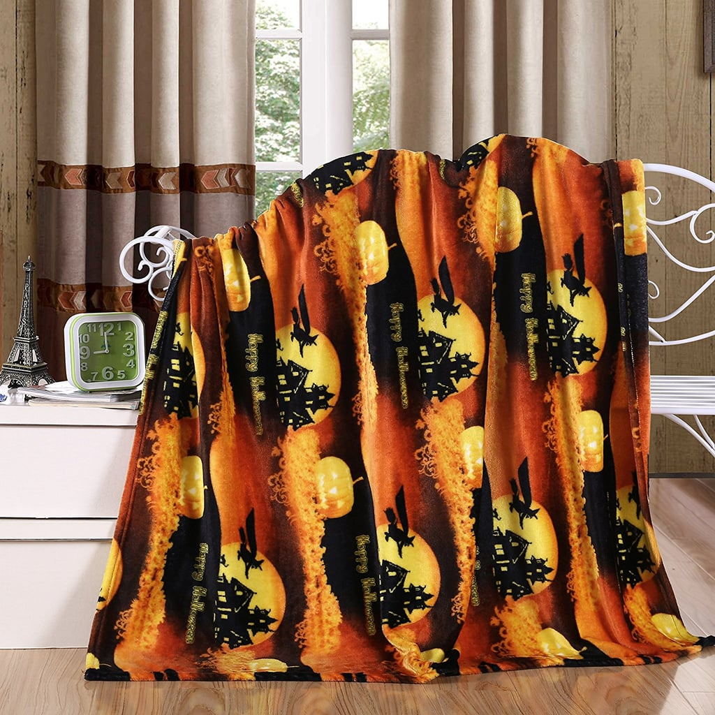 Halloween Season Throw Blanket