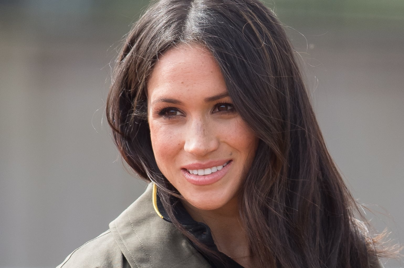 BATH, ENGLAND - APRIL 06:  Meghan Markle attends the UK Team Trials for the Invictus Games Sydney 2018 at University of Bath on April 6, 2018 in Bath, England.  (Photo by Samir Hussein/WireImage)