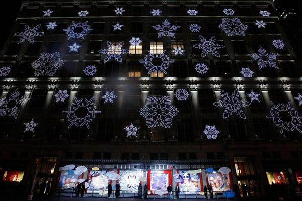 Behind the Seams: Saks Snowflake Spectacular