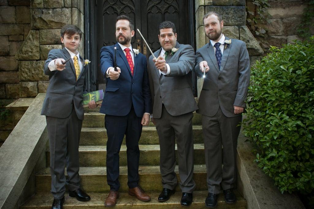 These Harry Potter Halloween Wedding Photos Are Riddikulus-ly Amazing