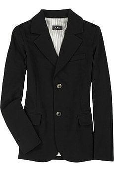 A.P.C. blazer- $330.00 at net-a-porter.com