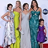 The women of Modern Family posed together at the Emmys.
