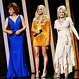 Carrie Underwood Hosting the CMA Awards With Reba McEntire and Dolly Parton