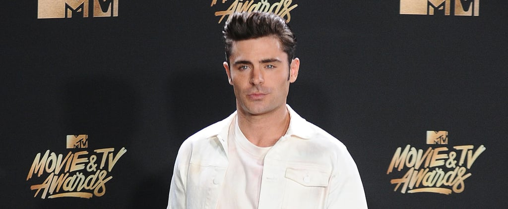 Zac Efron's Outfit at the 2017 MTV Movie and TV Awards