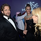 Gerald Butler attended the Haiti Carnival in Cannes event.