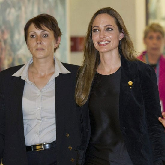 Angelina Jolie at the UNHCR in Geneva Pictures