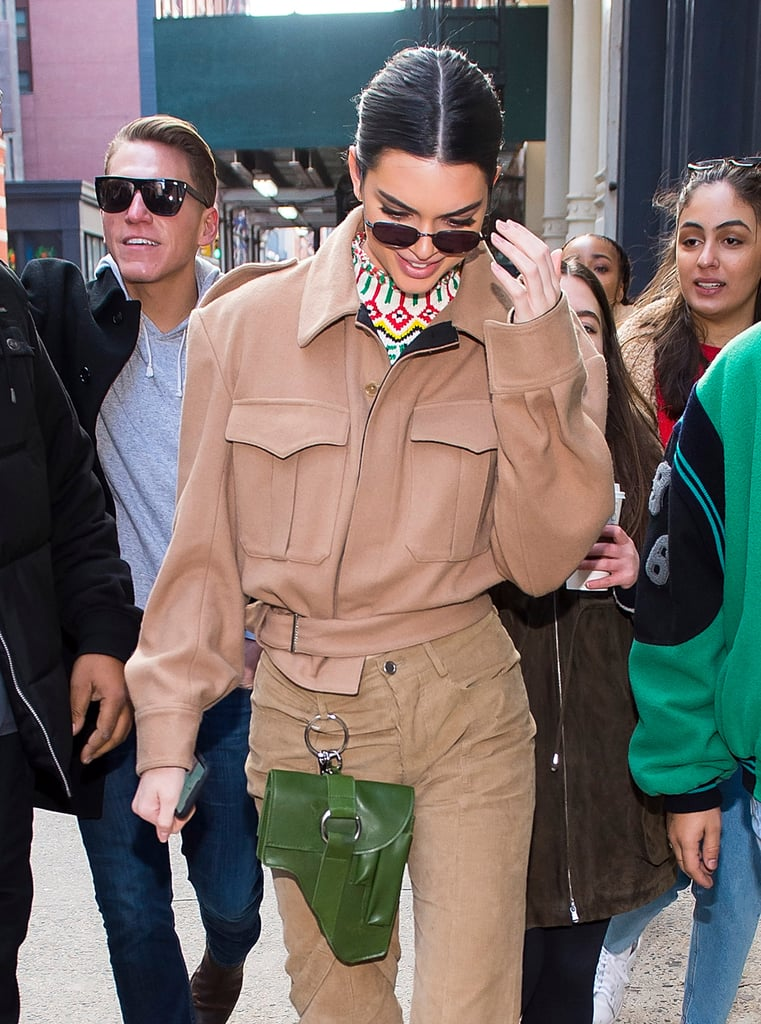 Kendall Jenner Sees Your Fanny Pack and Raises You This New Belt Contraption