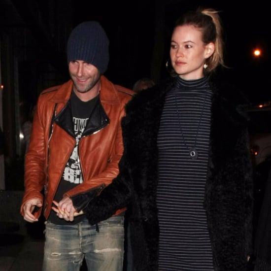 Adam Levine and Behati Prinsloo Out in LA November 2015