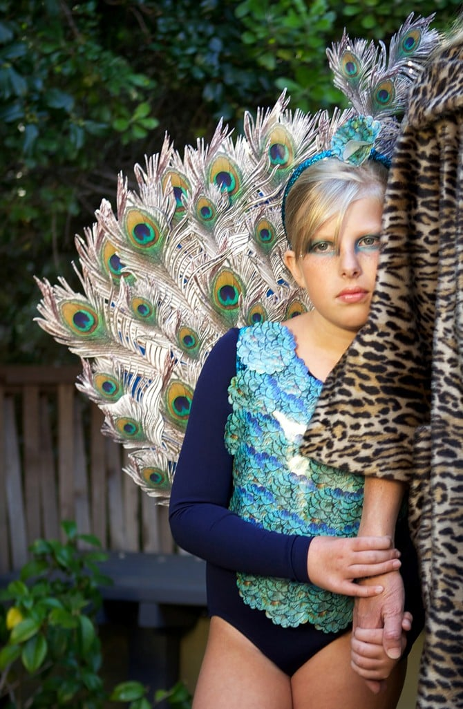 Feather Costume Kids