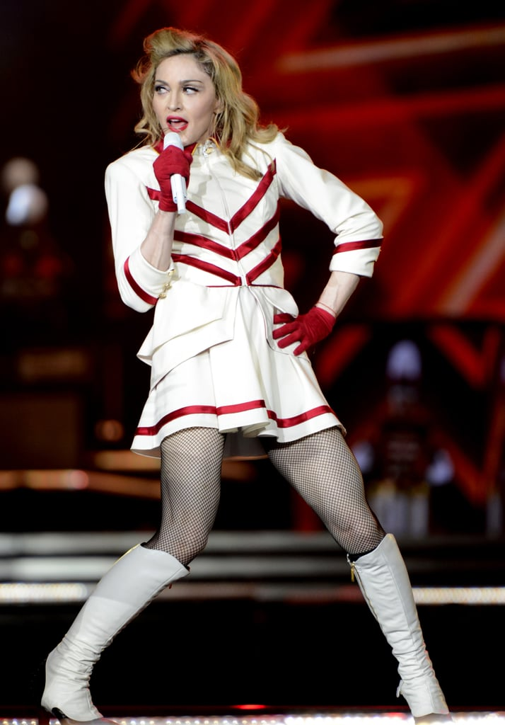 2012: Madonna Doubles, Then Triples Down on Her Shade