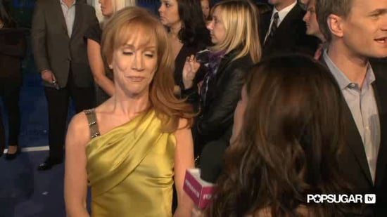 Video of Kathy Griffin Talking About Robert Pattinson, Taylor Lautner, and Kristen Stewart 2011-01-05 21:41:00