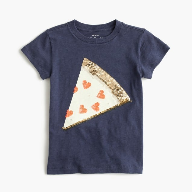 J.Crew Sequin Pizza Tee
