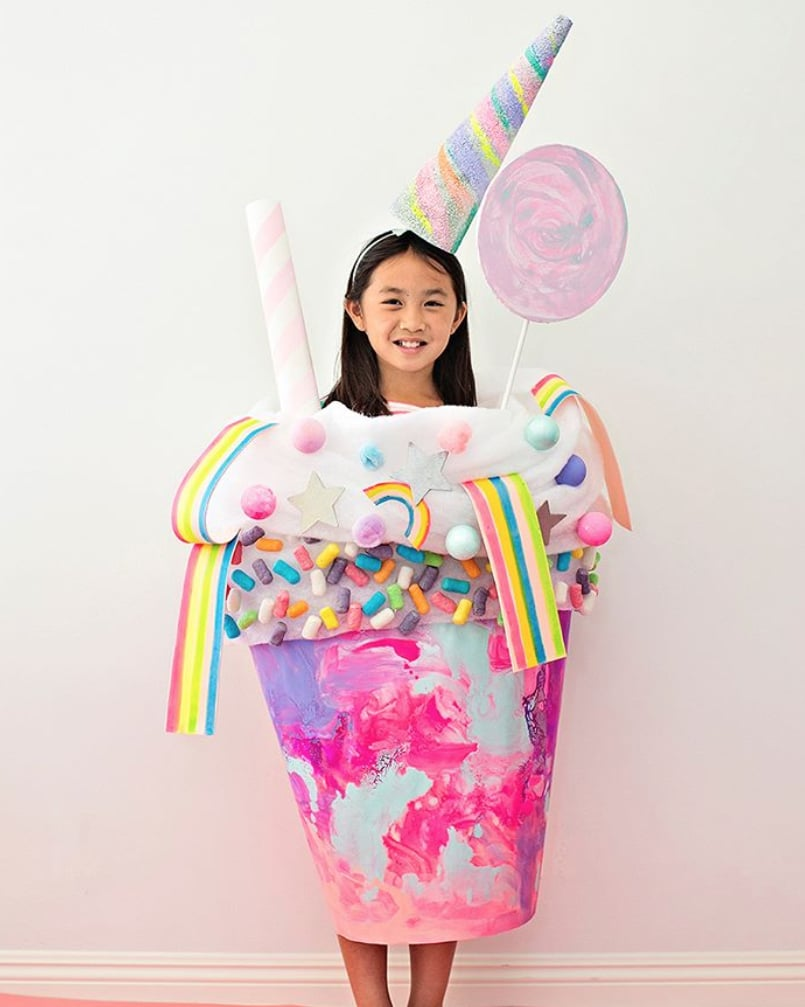 Unicorn Candy Milkshake
