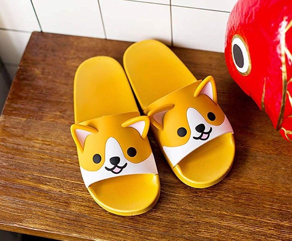 Fuyu Corgi Slide Sandals