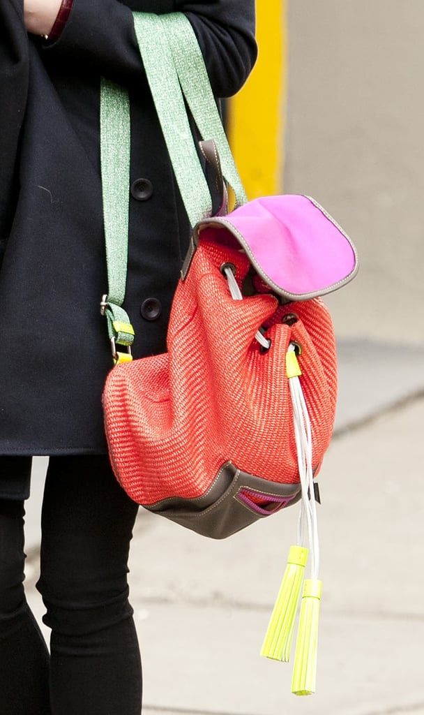 Backpacks aren't just for kids — we'd wear this colorblocked rendition any day of the week.