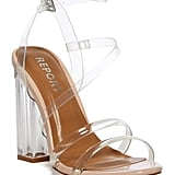 Report Block Heel Sandal